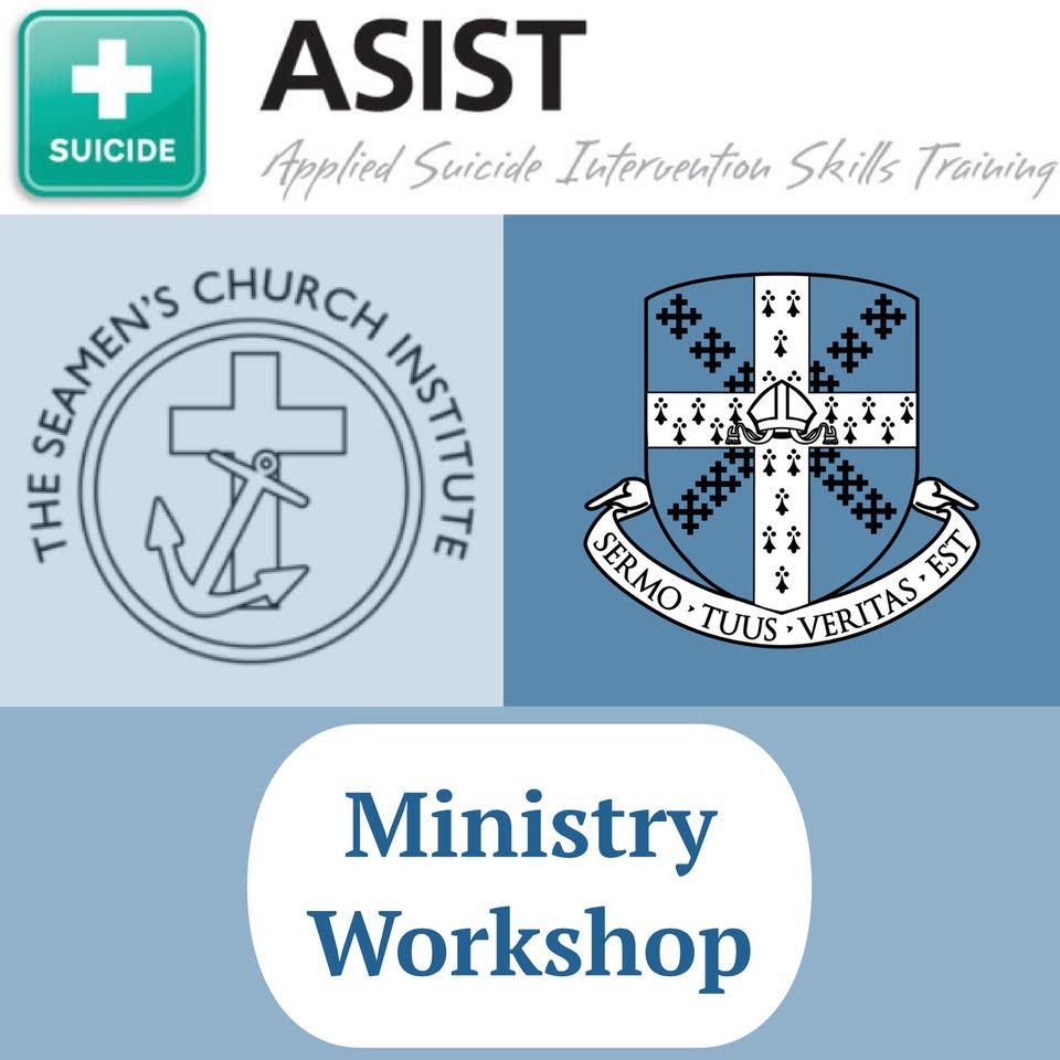 Ministry Workshop: ASIST Applied Suicide Intervention Skills Training with David Rider   March 2-3