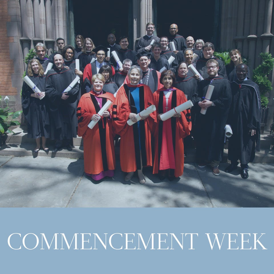 Commencement Week   May 16