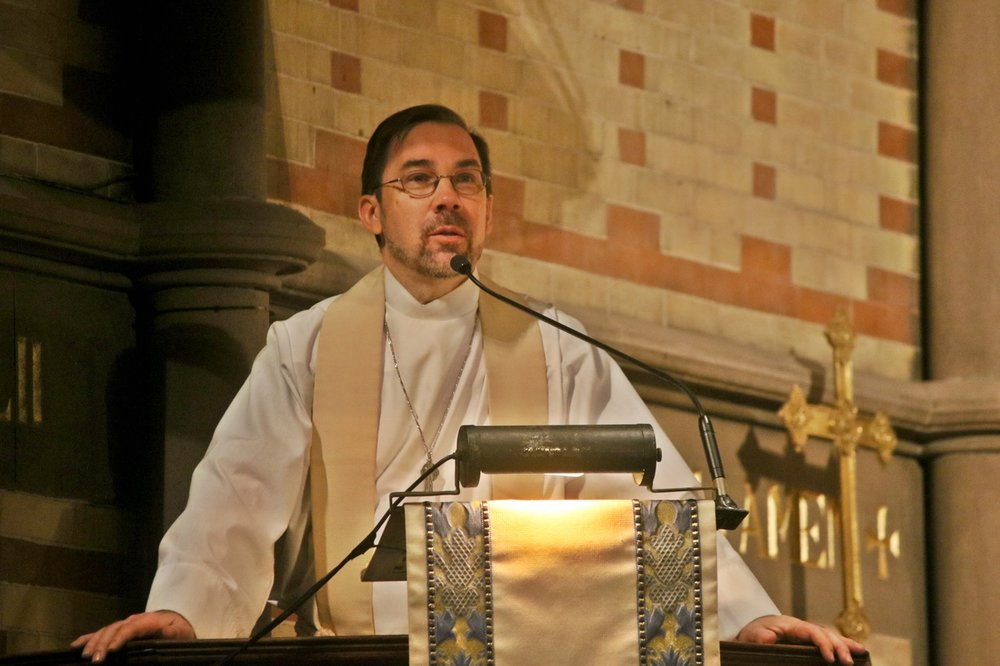 Associate Professor in the H. Boone Porter Chair of Liturgics and Director of the Chapel<strong>The Rev. Dr. Kevin Moroney</strong>