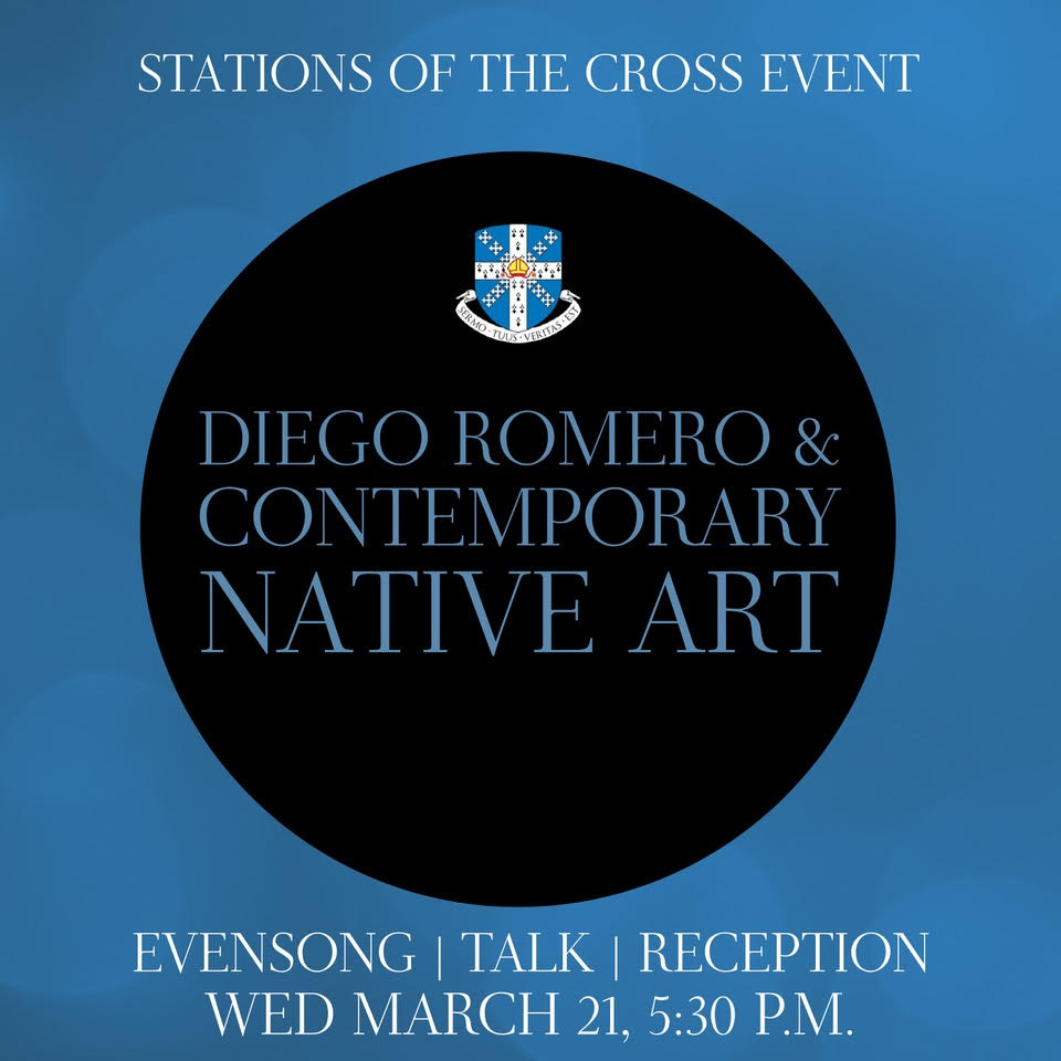 Stations of the Cross: Diego Romero & Contemporary Native Art    CANCELLED due to weather