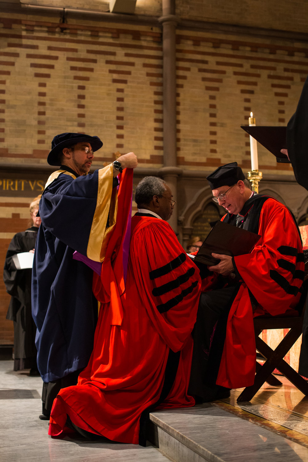 Conferral of honorary degree on Michael Curry