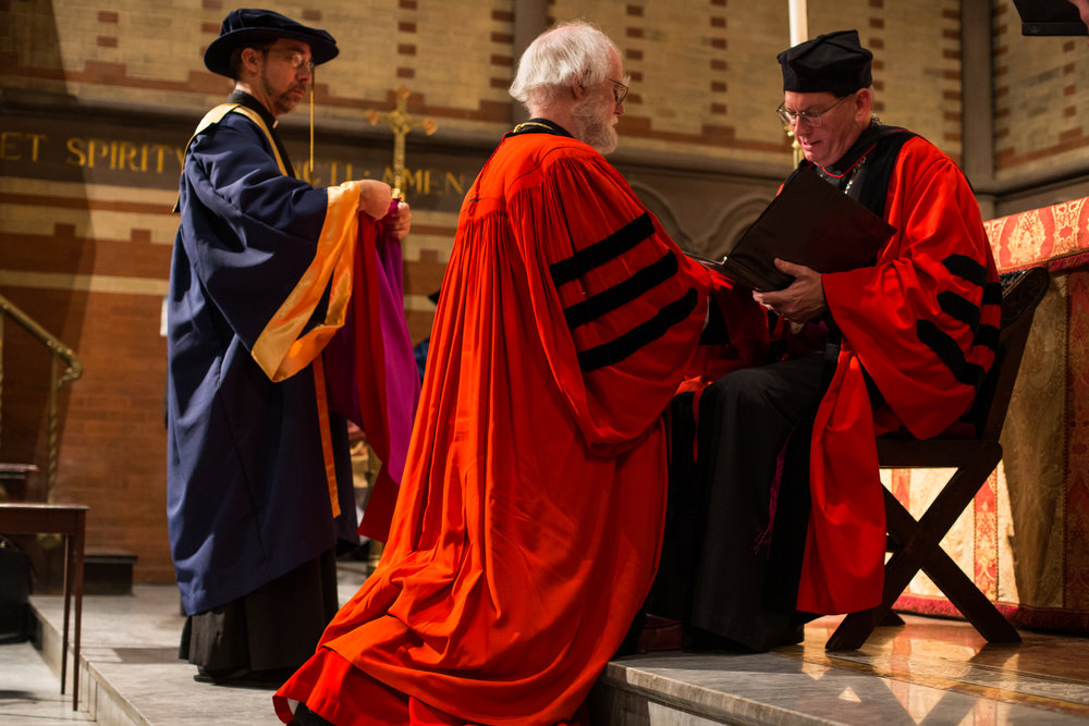 Conferral of honorary degree on Rowan Williams