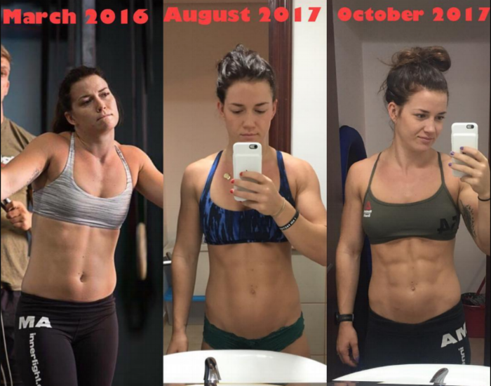 Just a little change in her macros, and in 2 months we see a huge benefit… and not just in the mirror.