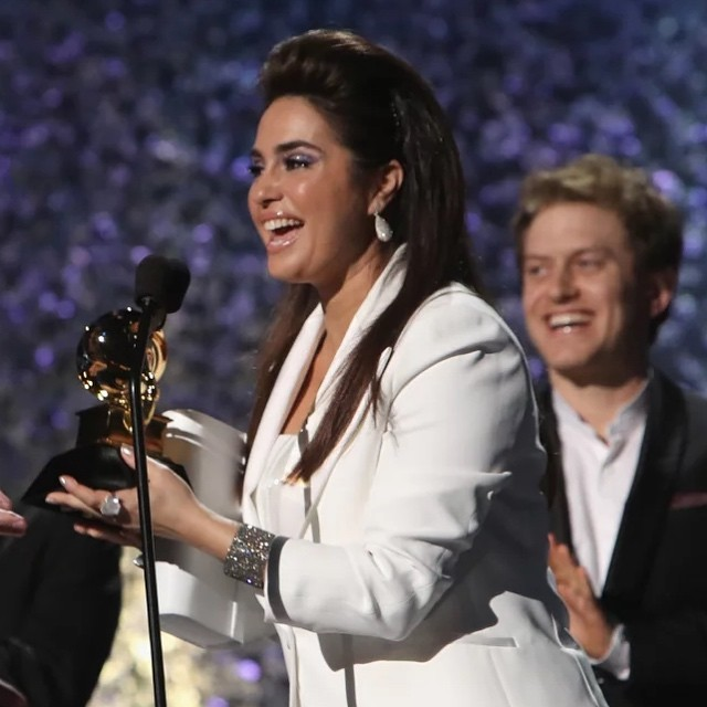 This year was the most historic Grammy award show ever!! Emily Lazar became the first women engineer ever to take home a Grammy for best engineered album! 🏆What an amazing win for her and women everywhere! 💪🦸🏻‍♀️👸🏾#femaleempowerment