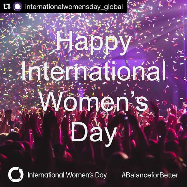 #Repost @internationalwomensday_global with @get_repost ・・・ Happy #InternationalWomensDay Let's celebrate the fabulous achievements of women, while collectively we forge a more gender-balanced world for #IWD2019 and beyond #BalanceforBetter ⁣ ⁣ #happyinternationalwomensday #celebrate #mentoring #event #womensday #coaching #debate #IWD #girlpower #womensupportwomen #networking #inspo #womeninleadership #genderparity #genderequality #equality #diversity #changethestory #herstory #equalityforeveryone #balancedworld
