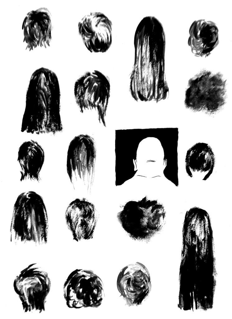 Ilustrația face parte din volumul    Bizaroproze  © Ecaterina Boricean