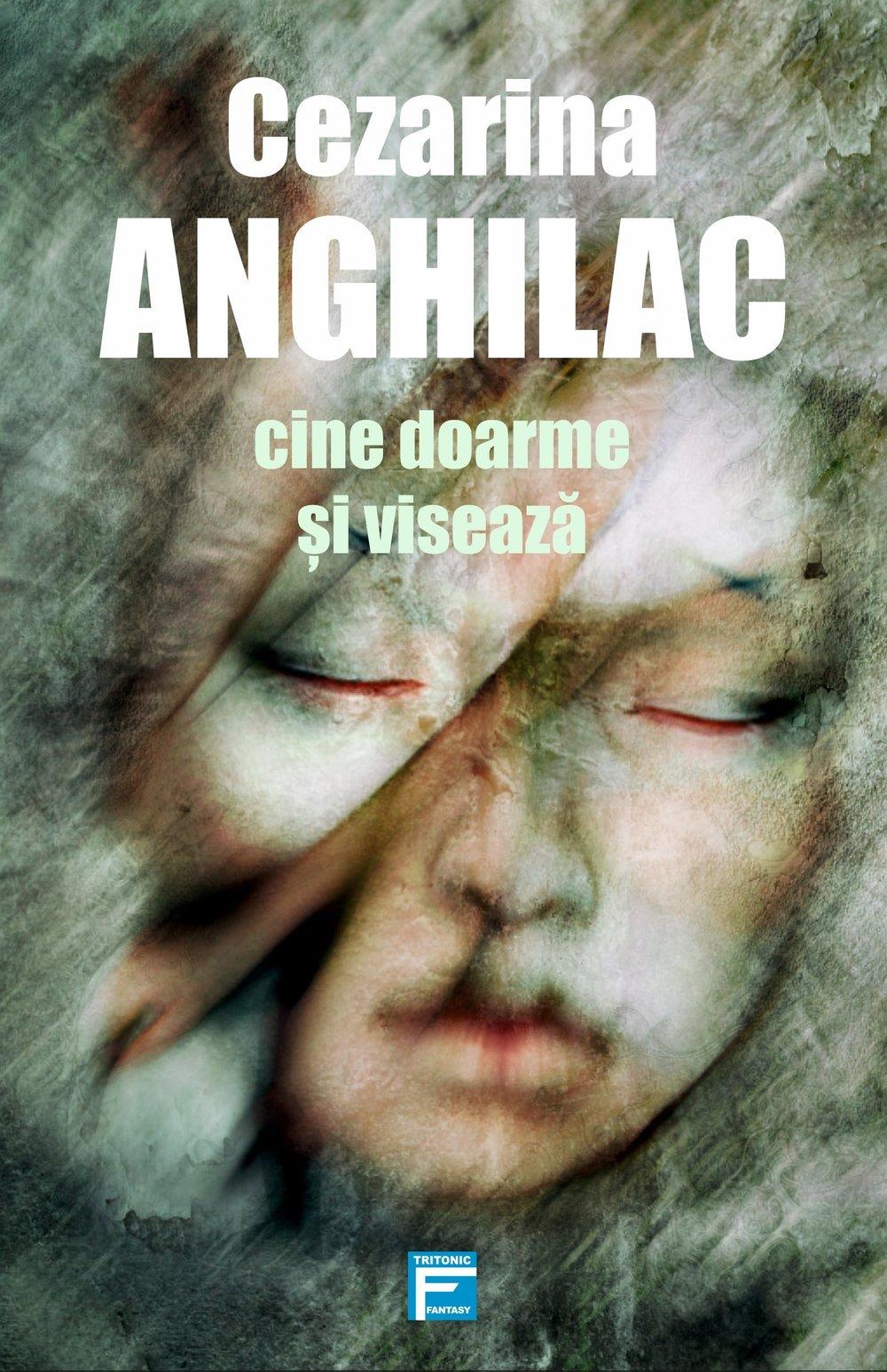 Copertă - Cine doarme și visează - Cezarina Anghilac