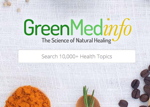 GreenMedInfo - GreenMeedInfo is an incredibly established, peer-reviewed resource on all things medicinal, to be it is a seriously complex botanical encyclopedia. GreenMedInfo is dedicated to