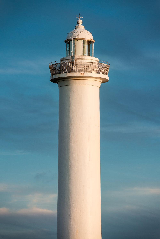 The iconic Zanpa Lighthouse on a gorgeous Okinawan morning.