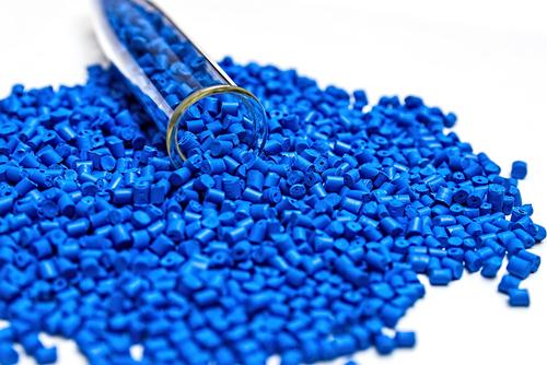 Polymer granules.