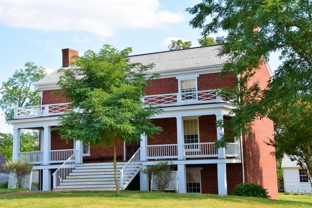 McLean Homestead, Appomattox Courthouse, Virginia