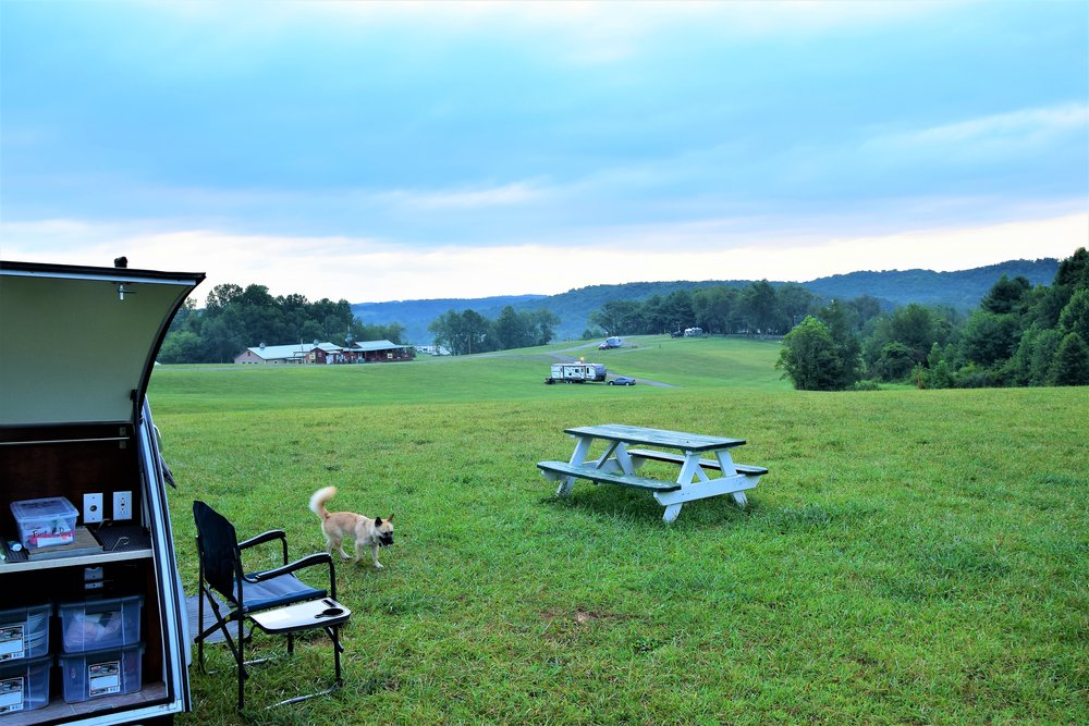 Chantilly Farms Campground, Floyd Virginia