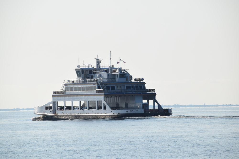 Ocracoke to Cedar Island Ferry