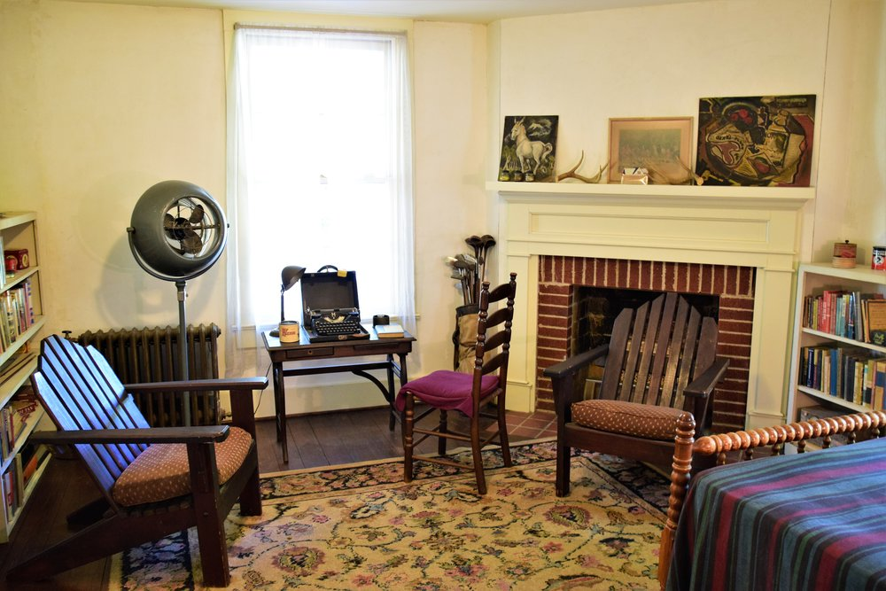 Faulkner's writing room