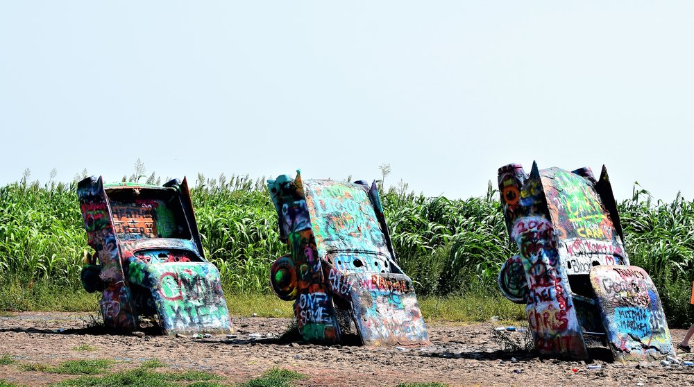 30% of the Cadillac Ranch