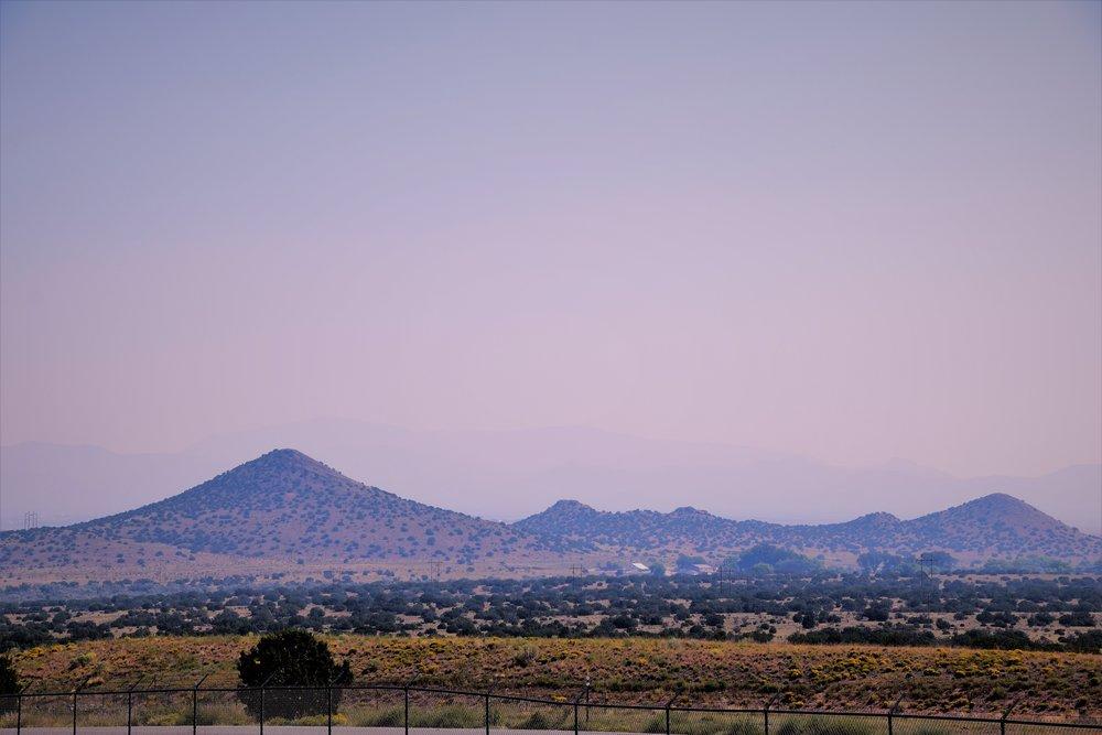 View from KOA