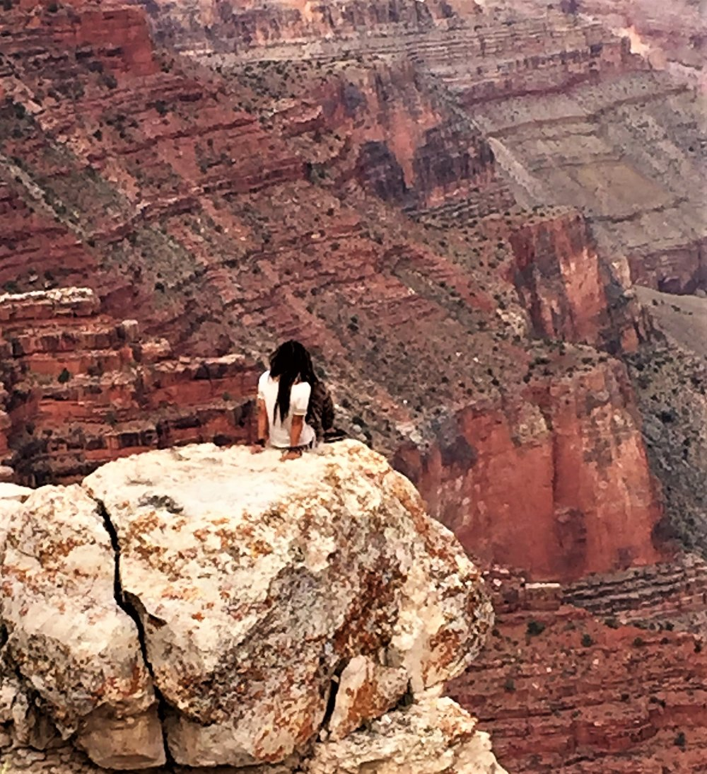 Courage at the Grand Canyon