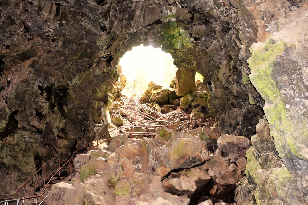 Newberry National Volcanic Monument Cave