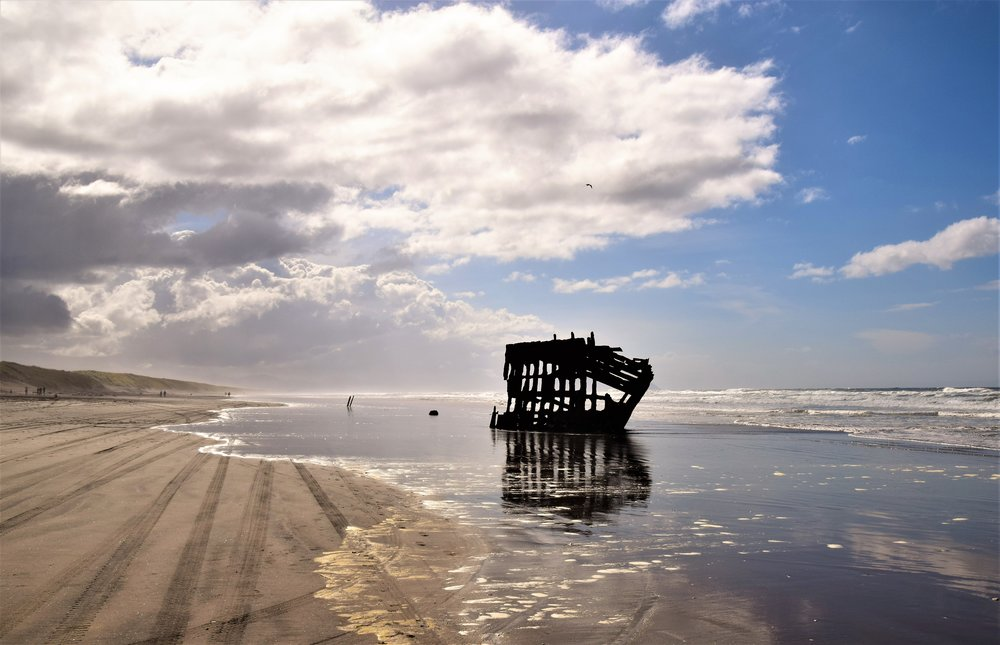 Peter Iredale wreck, Fort Stevens SP, OR