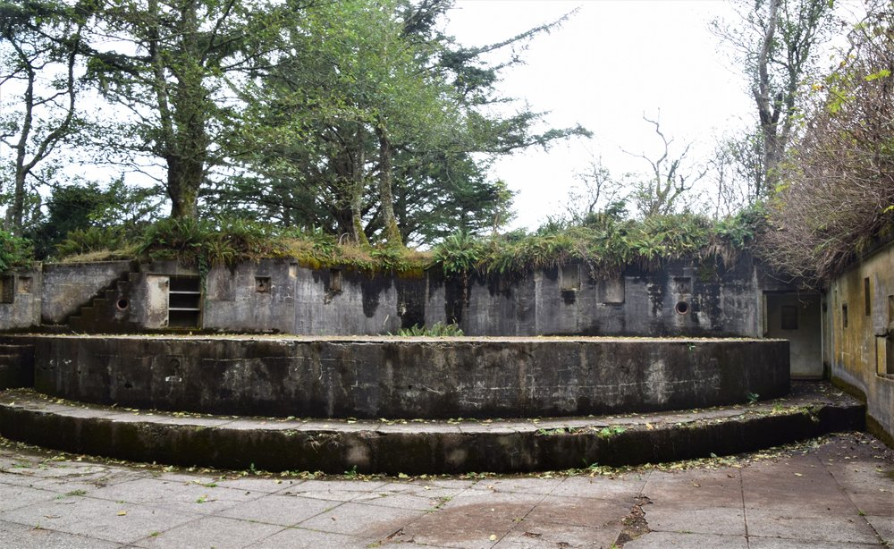 Cape Disappointment Gun Emplacements