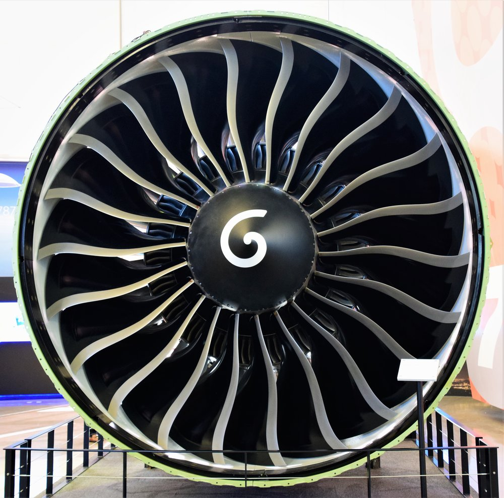 Jet Engine. Future of Flight Aviation Center