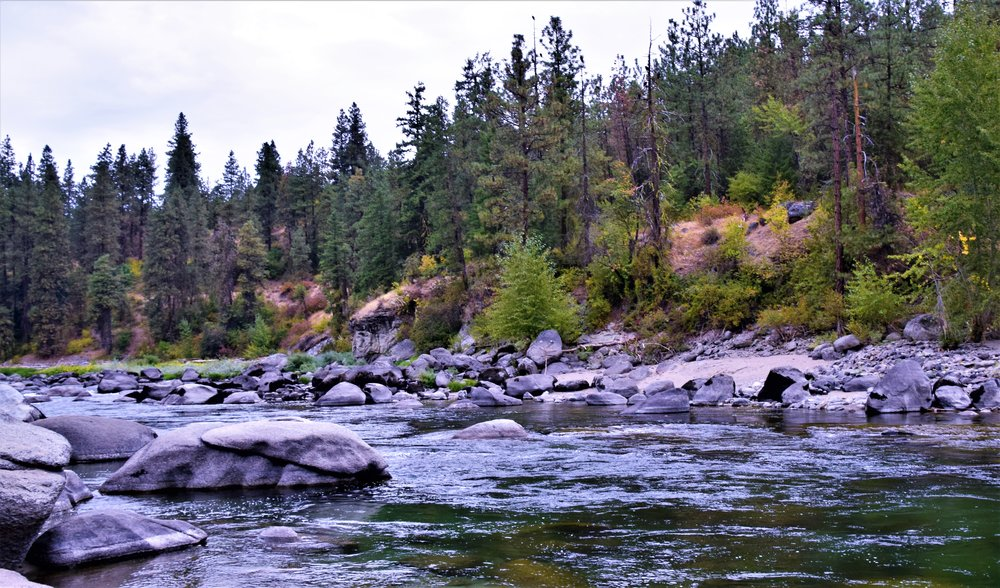 Wenatchee River, Leavenworth, WA KOA