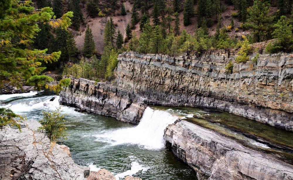 Kootenai Falls Park, Montana