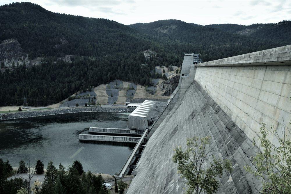 Libby Dam, Montana