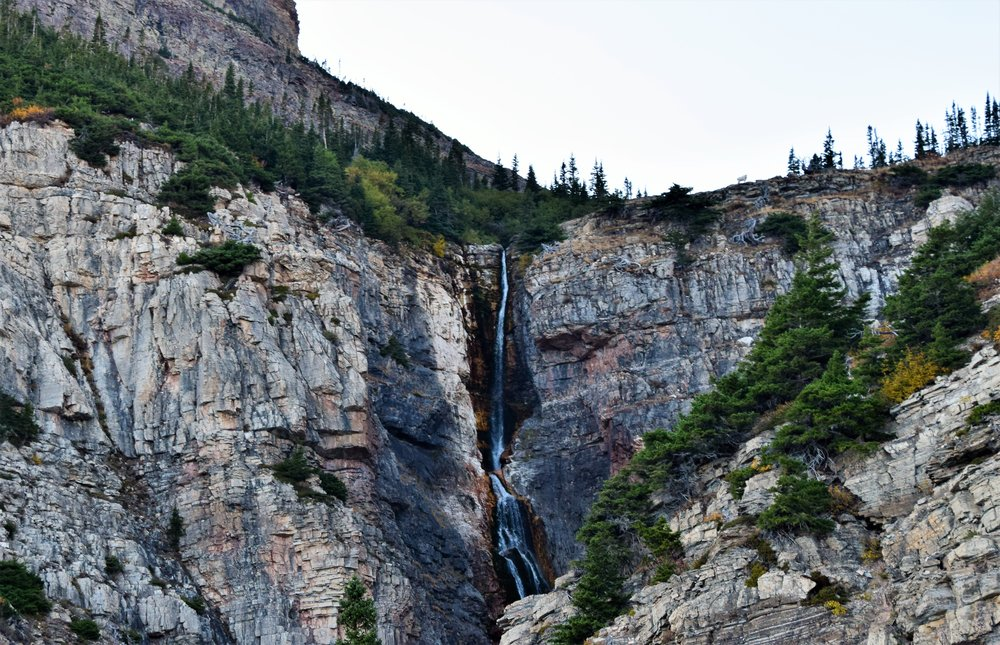 Apikuni Falls, Many Glacier