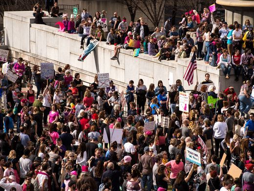 women's march Nashville, TN (Credit:Tennessean)