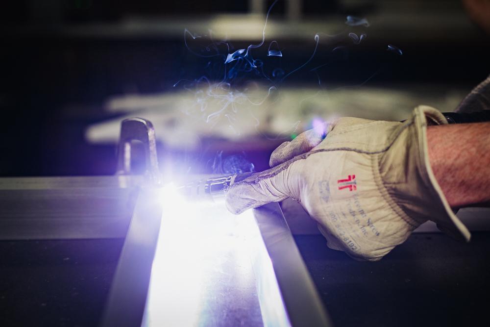 Welding aluminium
