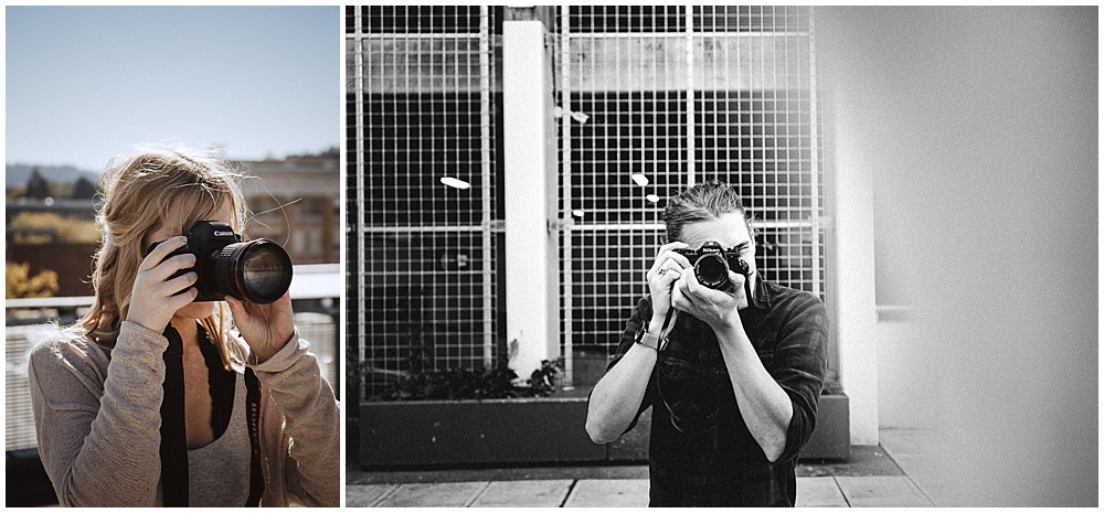 Left: Victory,  @victoryralston  with the Canon 6d | Right: Ryan,  @westwardeast  with the Nikon EM