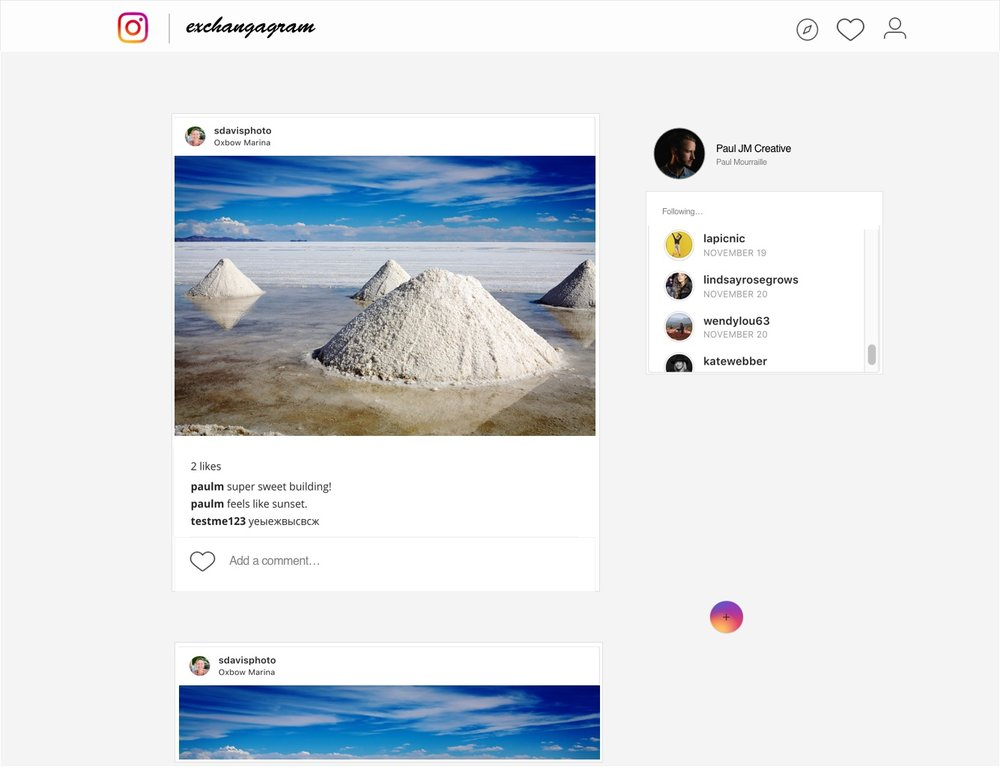 Exchangagram - an Instagram social media experiment