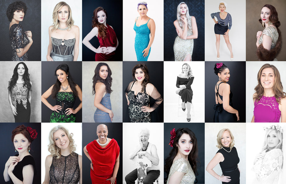 Here's some of the amazing women who I've photographed! Now it's time to come together to celebrate!