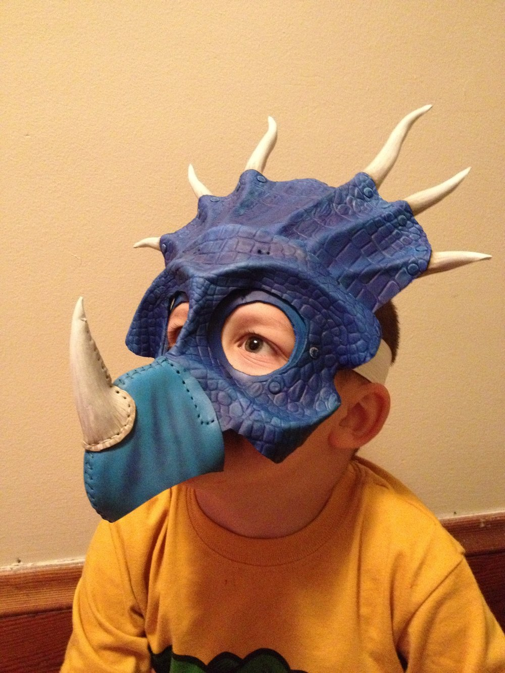 Kids Styracosaurus Mask