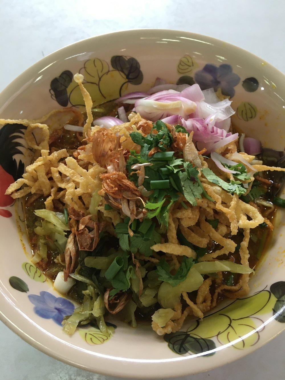 Khao Soi Thailand Food