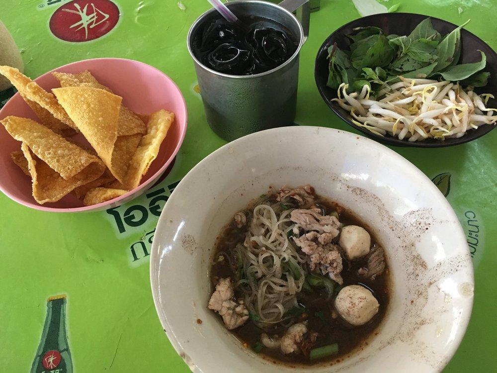 Boat Noodles Thailand Food