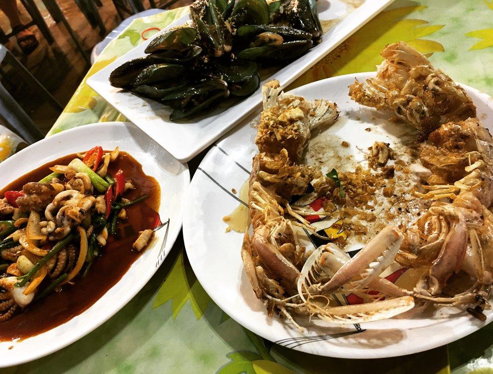 Seafood Thailand Food