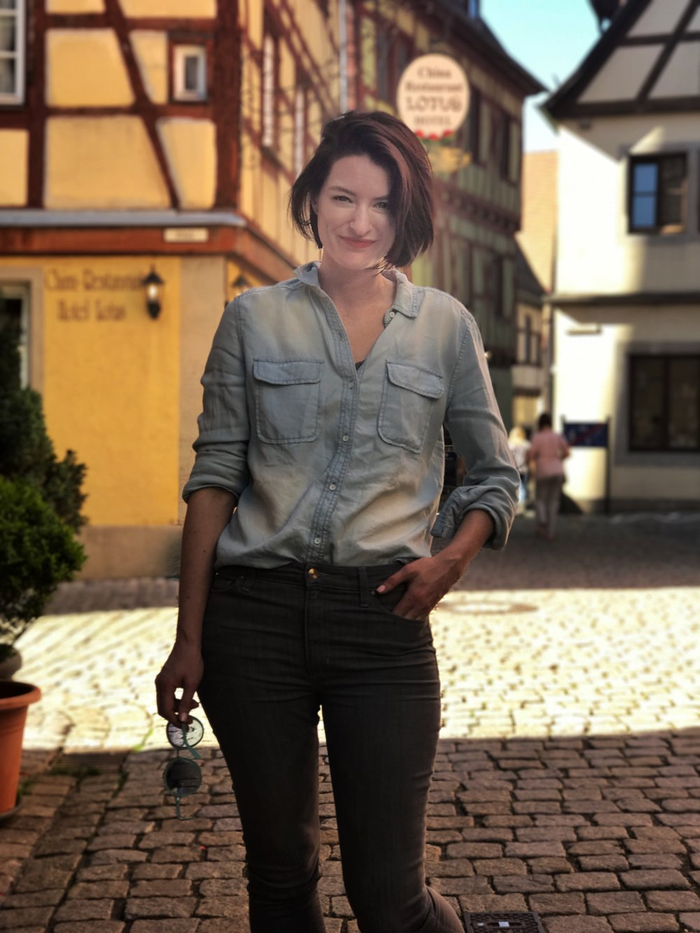 Strolling (very quickly) through the streets of a Bavarian village