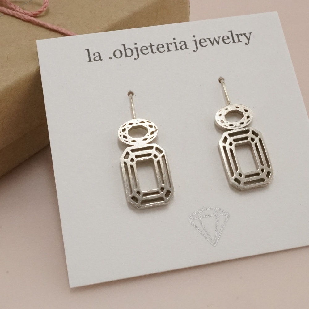 LA .OBJETERIA JEWELRY:  Earrings