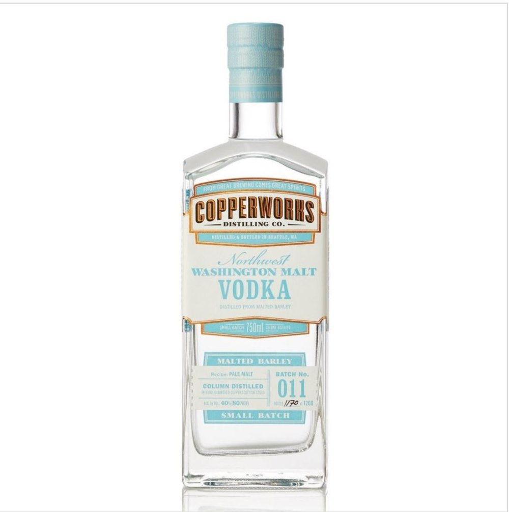 COPPERWORKS DISTILLING:  Vodka