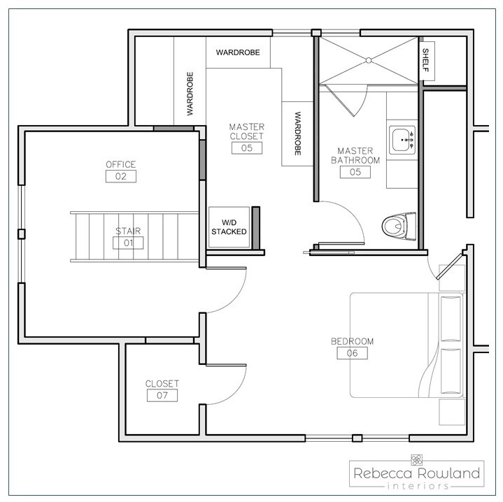 Green Lake Master Bedroom Remodel  - This remodel converts two large bedrooms into one suite and the stair landing into office space complete with built-ins   Status  - Design phase   Completion  - 2020