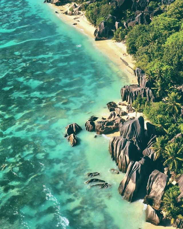 Put this on your bucket list... Anse Source D'Argent Beach, Seychelles. One of the most famous and photographed beaches in the world for those in the know and with good reason. We found ourselves taking day trips from our hotel @sixsenseszilpasyon located on the island of Felicite to this beach on the nearby island of La Digue any chance we could. We also loved feeding and photographing the Aldabra Tortoises on the island. Curieuse is another island we highly recommend visiting. ⁣⁣⁣ ⁣⁣⁣ Six Senses Zil Pasyon, located on the private island of Felicite, is perfect for couples seeking quiet and privacy. The views from the rooms all equipped with private plunge pools are spectacular! As all meals can be delivered to your villa, you literally do not have to leave your hotel room EVER if you don't feel like it! Absolute dream destination for a honeymoon. ⁣⁣⁣ ⁣⁣⁣ We are huge fans of the @sixsenseshotelsresortsspas it will be interesting to see what happens now that @IHG has purchased the chain. #outoftheordinary ⁣⁣⁣ ⁣⁣⁣ Follow us @optionescape for more travel tips. ⁣⁣⁣ ⁣⁣⁣ Please feel free to ask us any questions about our experiences abroad. We keep it real. We were not sponsored for this trip. We paid our own way and our recommendations and opinions here are our own.