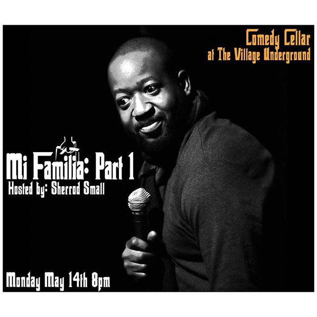 #mifamilia PART 1 🔥🔥🔥🔥 MAY 14th 8PM MUSIC BY @ciphasounds  With SPECIAL GUESTS @nyccomedycellar • Ticket Link in Bio #smallworldcomedy