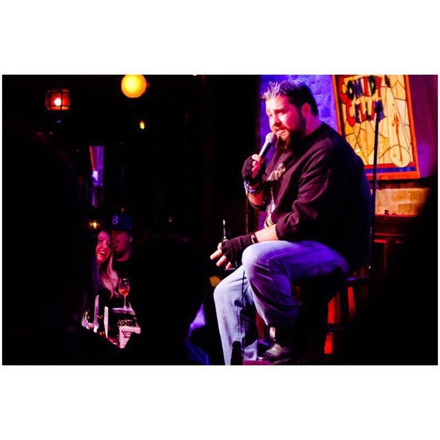 #tbt @bigjayoakerson at our #festivus show #MiFamilia TUESDAY JULY 24th 10PM @comedycellarusa LINK IN BIO 📷: @humanplac3s