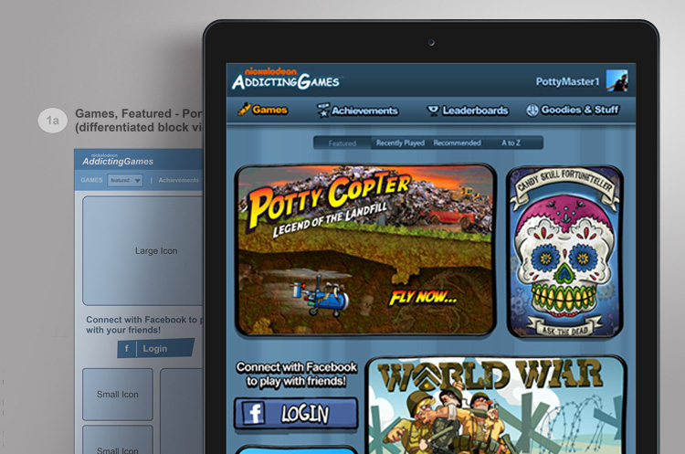 Multigame mobile platform