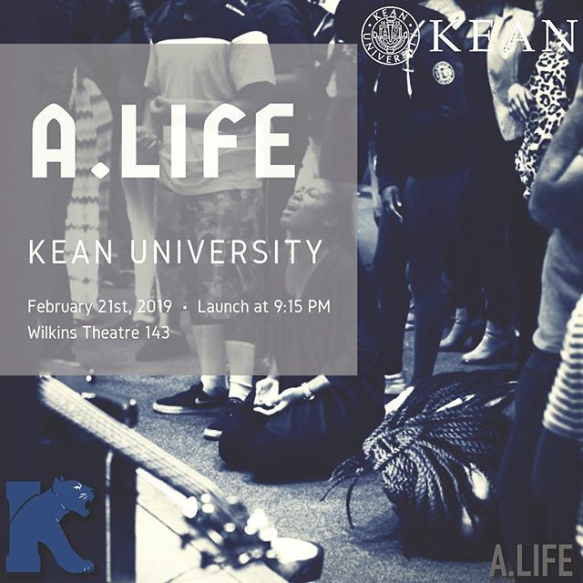 A.LIFE is on the move!!! Next Thursday, February 21st 9:15pm is the official launch night for A.LIFE Kean University. God has lit a 🔥 in our hearts to expand and create an environment where those far and near to God can experience the love of God! Kean is next! Tag a friend! Come and slide thru for more Jesus! 🙌🏾 #GodisGood #campusministry #youngadultministry Reppin @alfwc all-day!
