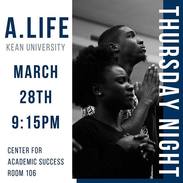 TOMORROW 🔥 Join us tomorrow for our second monthly gathering at Kean University. Bring a friend and get ready for an unforgettable night!