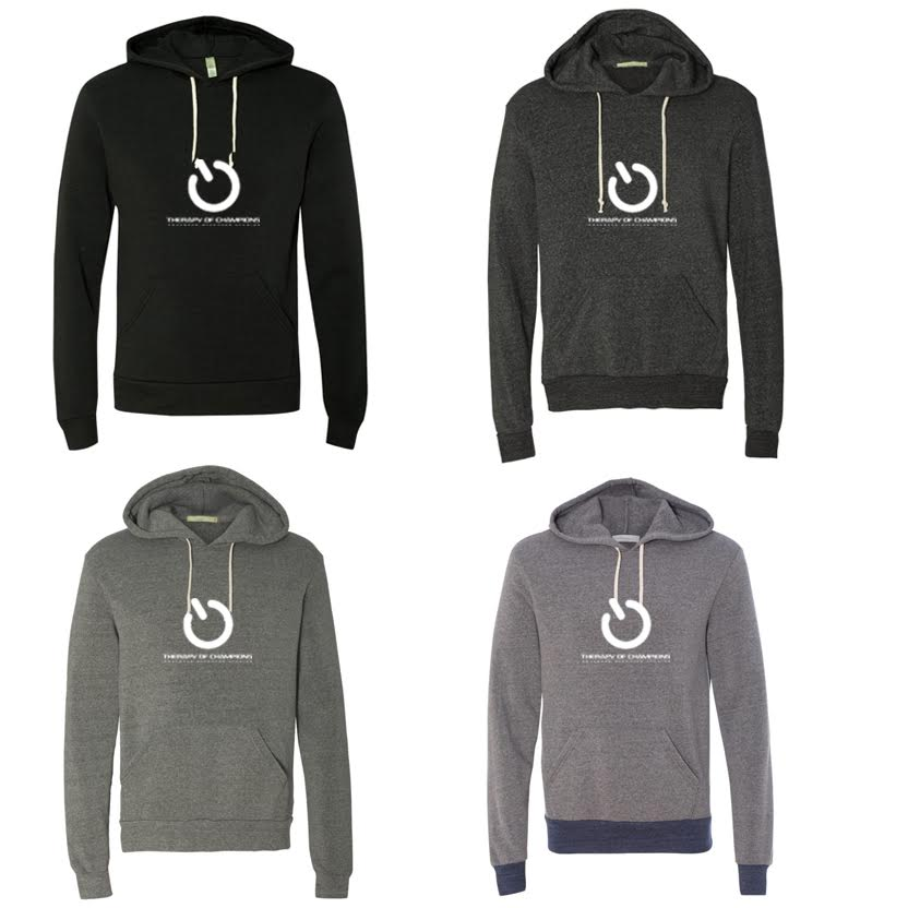 TOC Eco-Fleece Hooded Pullover