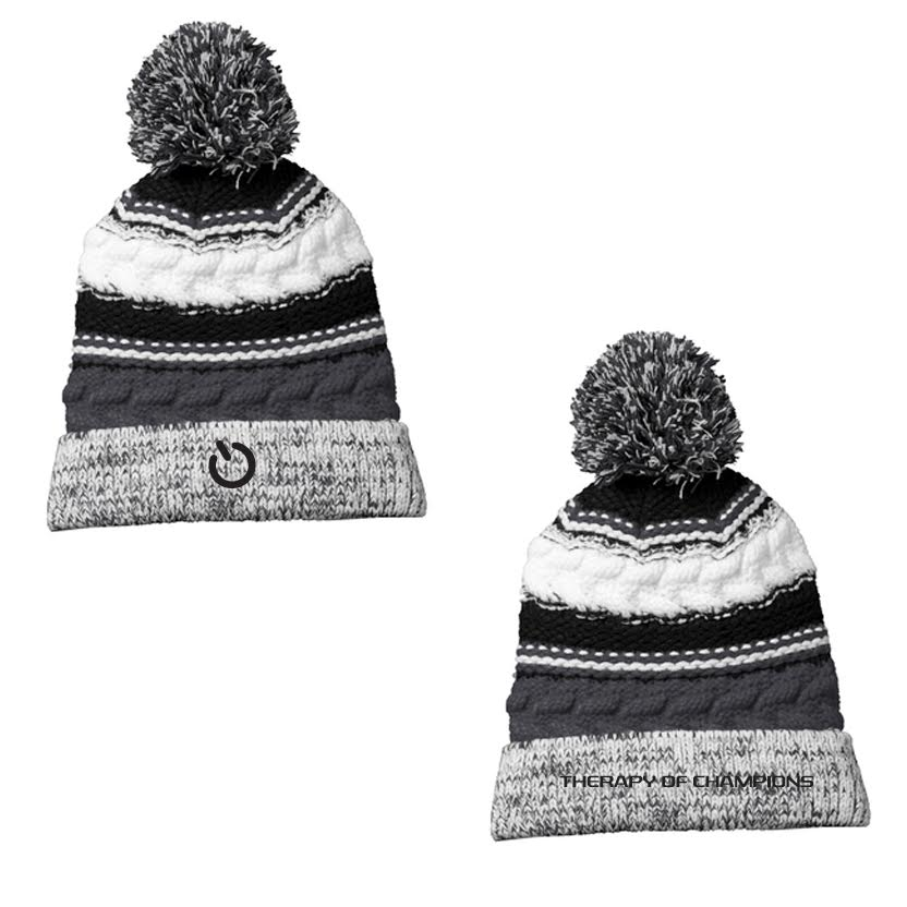 TOC Knit Beanie with Logo